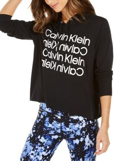 Calvin Klein Performance Selfie Repeat-Logo Hoodie