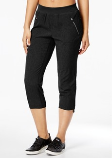 Calvin Klein Performance Commuter Active Shirred Cropped Pants