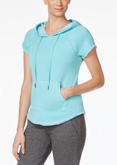 Calvin Klein Performance Short-Sleeve Fleece Hoodie