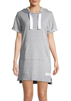 Calvin Klein Performance Short-Sleeve Hoodie Dress
