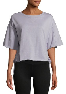 Calvin Klein Performance Side Lace Up Tee
