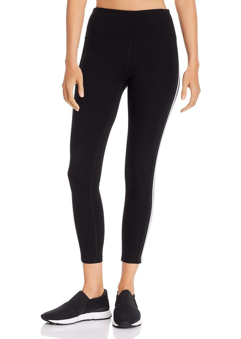 Calvin Klein Performance Side-Stripe Ankle Leggings
