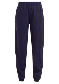 Calvin Klein Performance Side-stripe shell track pants
