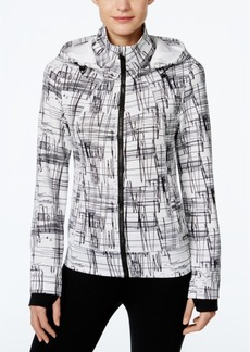 Calvin Klein Performance Sketchbook Printed Hooded Jacket