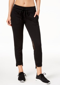 Calvin Klein Performance Slim-Fit Step-Hem Jersey Joggers