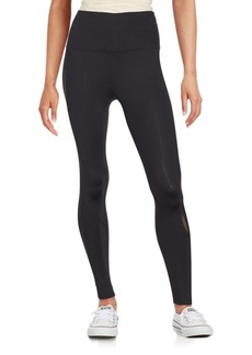 Calvin Klein Performance Solid Skinny-Fit Leggings