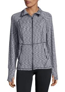 Calvin Klein Performance Space Dye Full-Zip Jacket