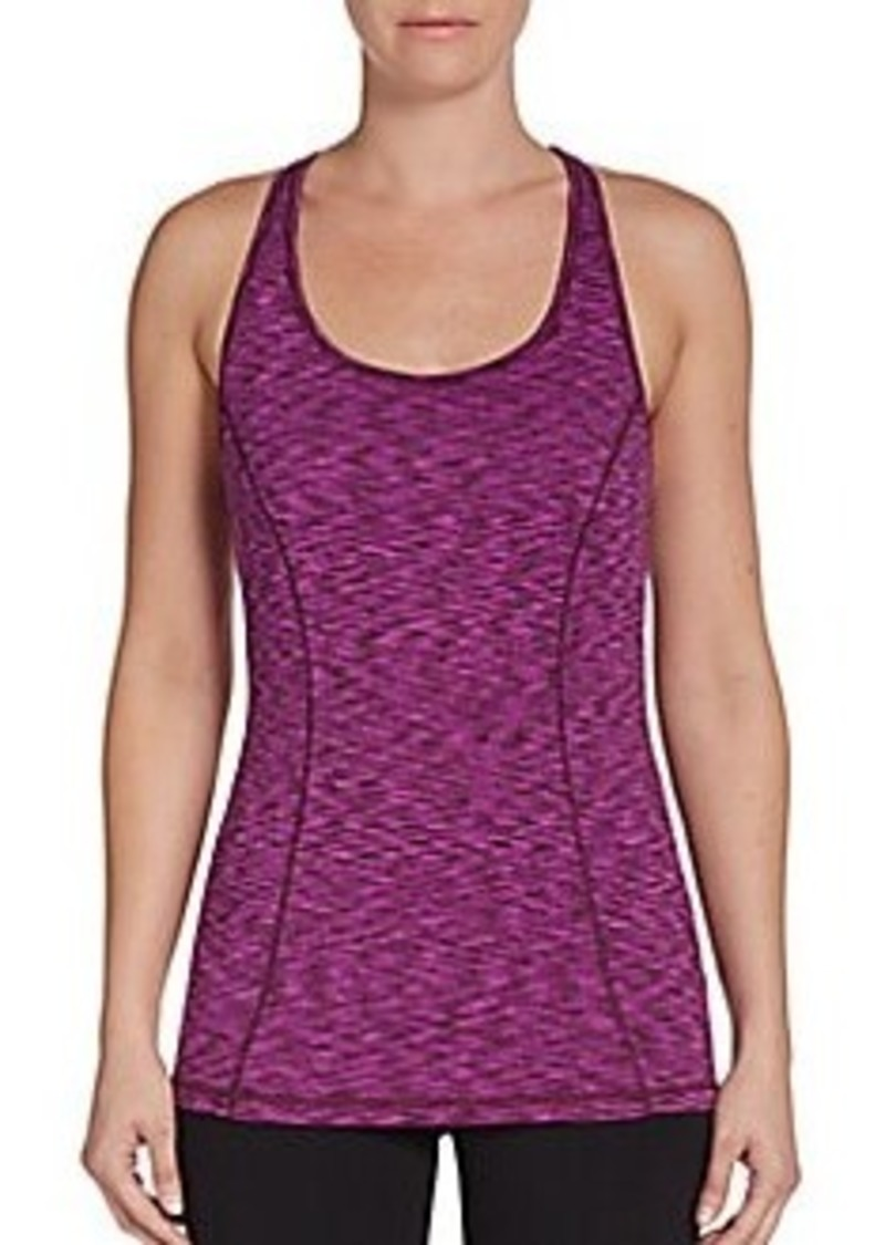 Calvin Klein Performance Space-Dyed Racerback Performance Tank