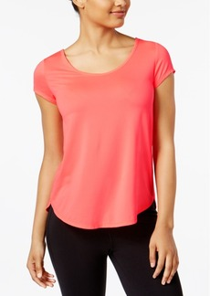 Calvin Klein Performance Space-Dyed Strappy-Back T-Shirt