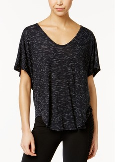 Calvin Klein Performance Space-Dyed T-Back Top