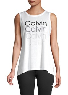 Calvin Klein Performance Stacked Logo Tank