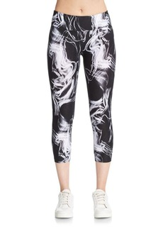 Calvin Klein Performance Strand Printed Capri Leggings