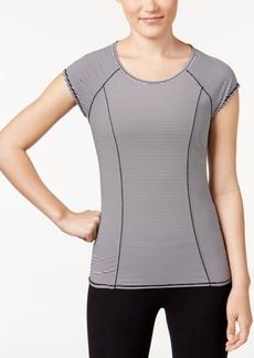 Calvin Klein Performance Striped Cutout Back T-Shirt