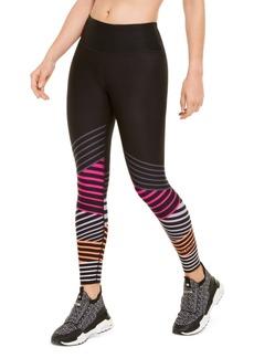 Calvin Klein Performance Striped High-Waist Leggings