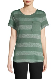 Calvin Klein Performance Striped Short Sleeve Tee