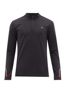 Calvin Klein Performance Technical jersey half-zip top