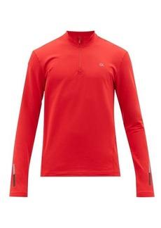 Calvin Klein Performance Quarter-zip technical-jersey top
