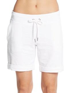 Calvin Klein Performance Terry Cuffed Shorts