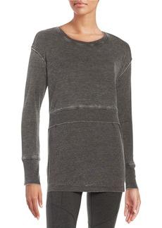 CALVIN KLEIN PERFORMANCE Textured Knit Layer Top