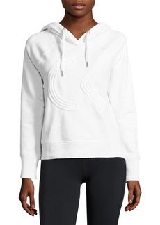 Calvin Klein Performance Textured Logo Hoodie