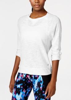 Calvin Klein Performance Three-Quarter-Sleeve Top