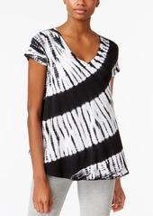 Calvin Klein Performance Tie-Dyed V-Neck T-Shirt