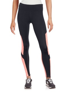 Calvin Klein Performance Two-Tone Elasticized Leggings