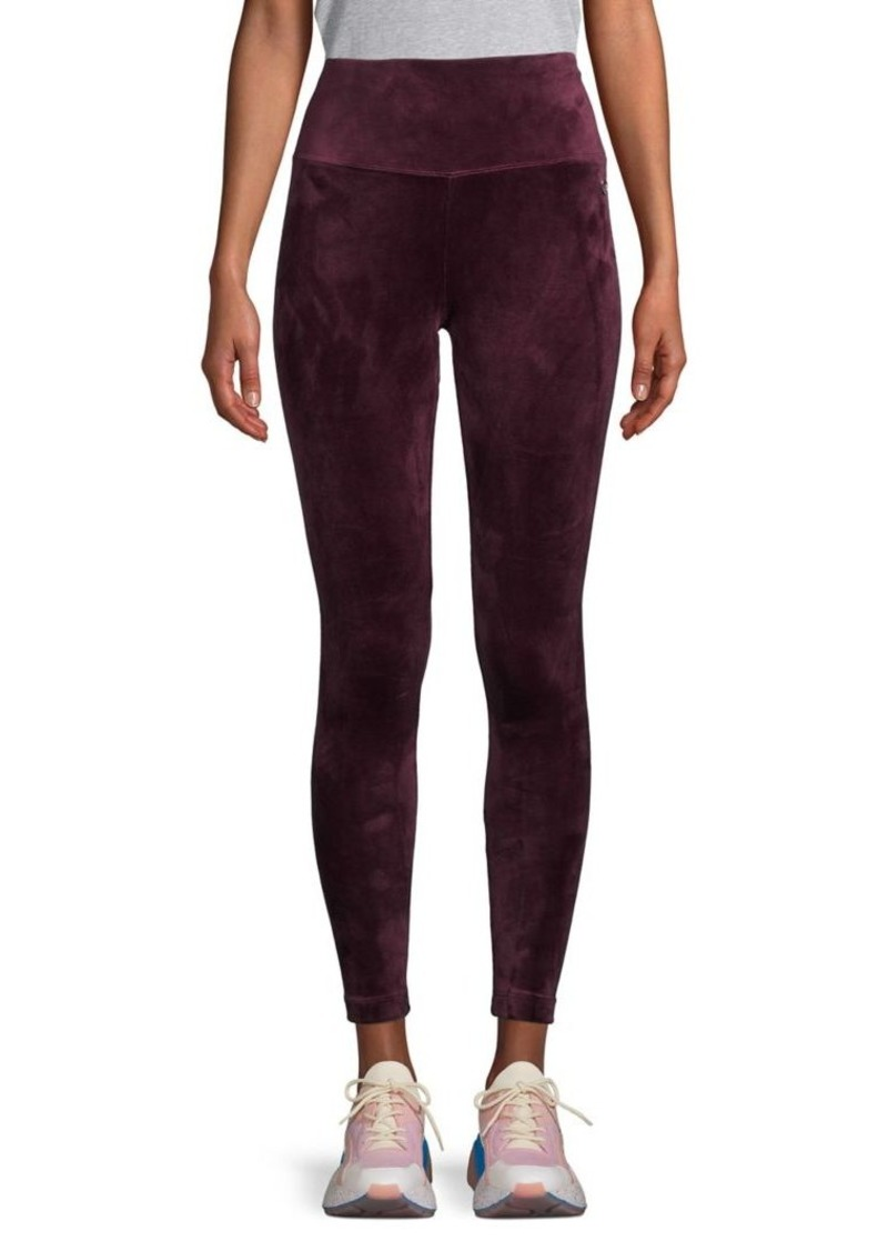 Calvin Klein Performance Velour High-Waist Pants