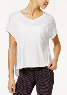 Calvin Klein Performance Vented-Back Top
