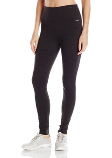 "Calvin Klein Performance Women's 32"" Inseam Control Waistband Full Length Legging-Techno Roma  XL"