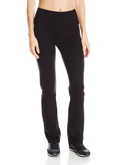 "Calvin Klein Performance Women's 32"" Inseam Control Waistband Straight Leg Pant-Techno Roma"