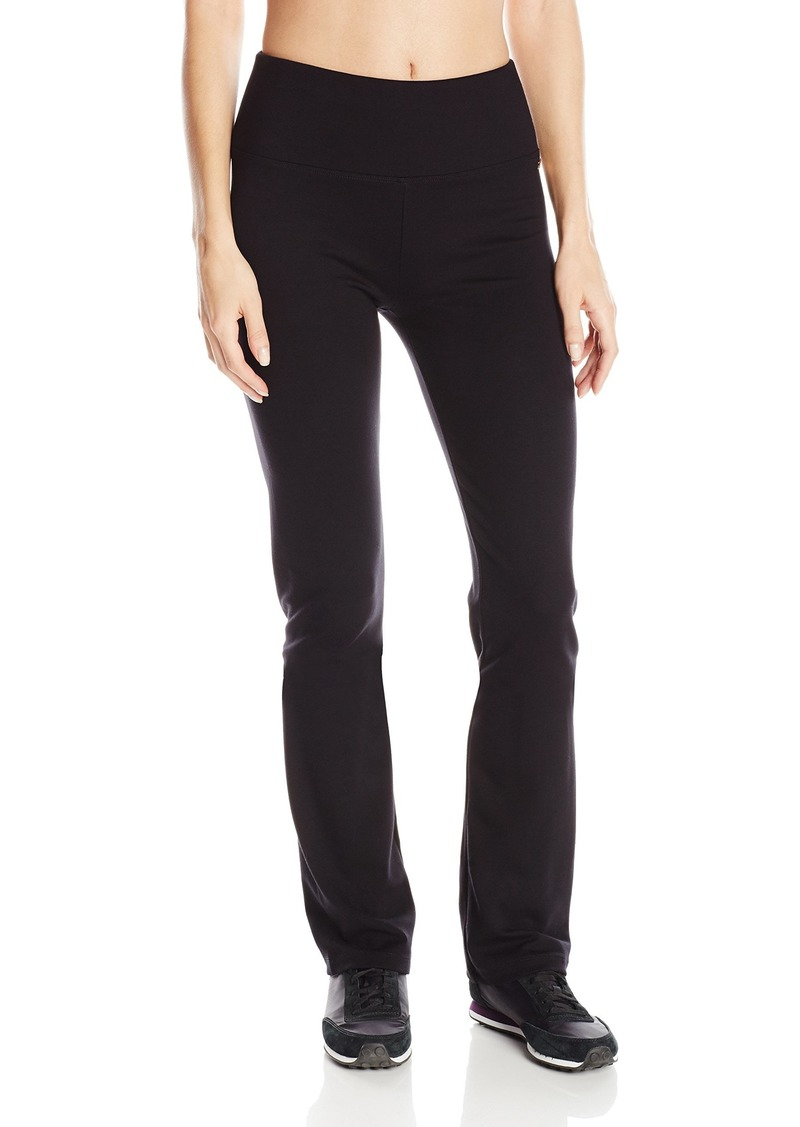 "Calvin Klein Performance Women's 32"" Inseam Control Waistband Straight Leg Pant-Techno Roma"