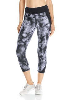 Calvin Klein Performance Women's Abstraction Print Crop Legging