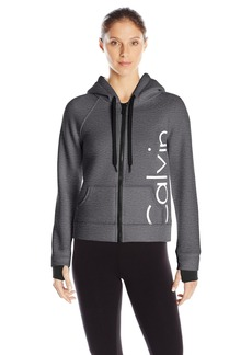 Calvin Klein Performance Women's Bonded Knit Logo Jacket