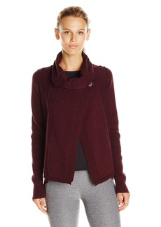 Calvin Klein Performance Women's Button Neck Knit Wrap