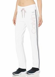 Calvin Klein Performance Women's Calvin Logo High Waist Ankle Length Pant