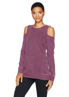 Calvin Klein Performance Women's Cold Shoulder Pullover  L