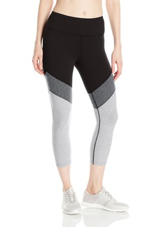 Calvin Klein Performance Women's Color Block High Waist Crop Legging  L