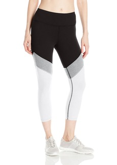 Calvin Klein Performance Women's Color Block High Waist Crop Legging  XL