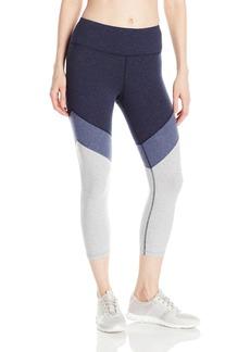 Calvin Klein Performance Women's Color Block High Waist Crop Legging  XL