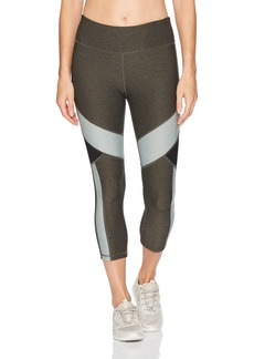 Calvin Klein Performance Women's Colorblock Crop Tight  M