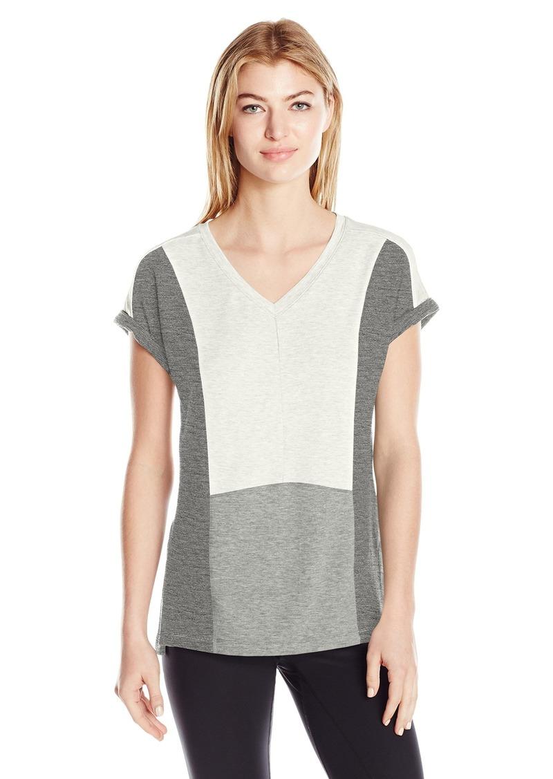 Calvin Klein Performance Women's Colorblock Pullover Tee  XL