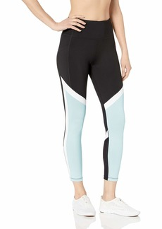Calvin Klein Performance Women's Colorblock Tight with Back Mesh Inset
