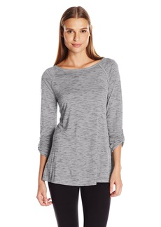 Calvin Klein Performance Women's Convertible Sleeve Space Dye Tunic  S