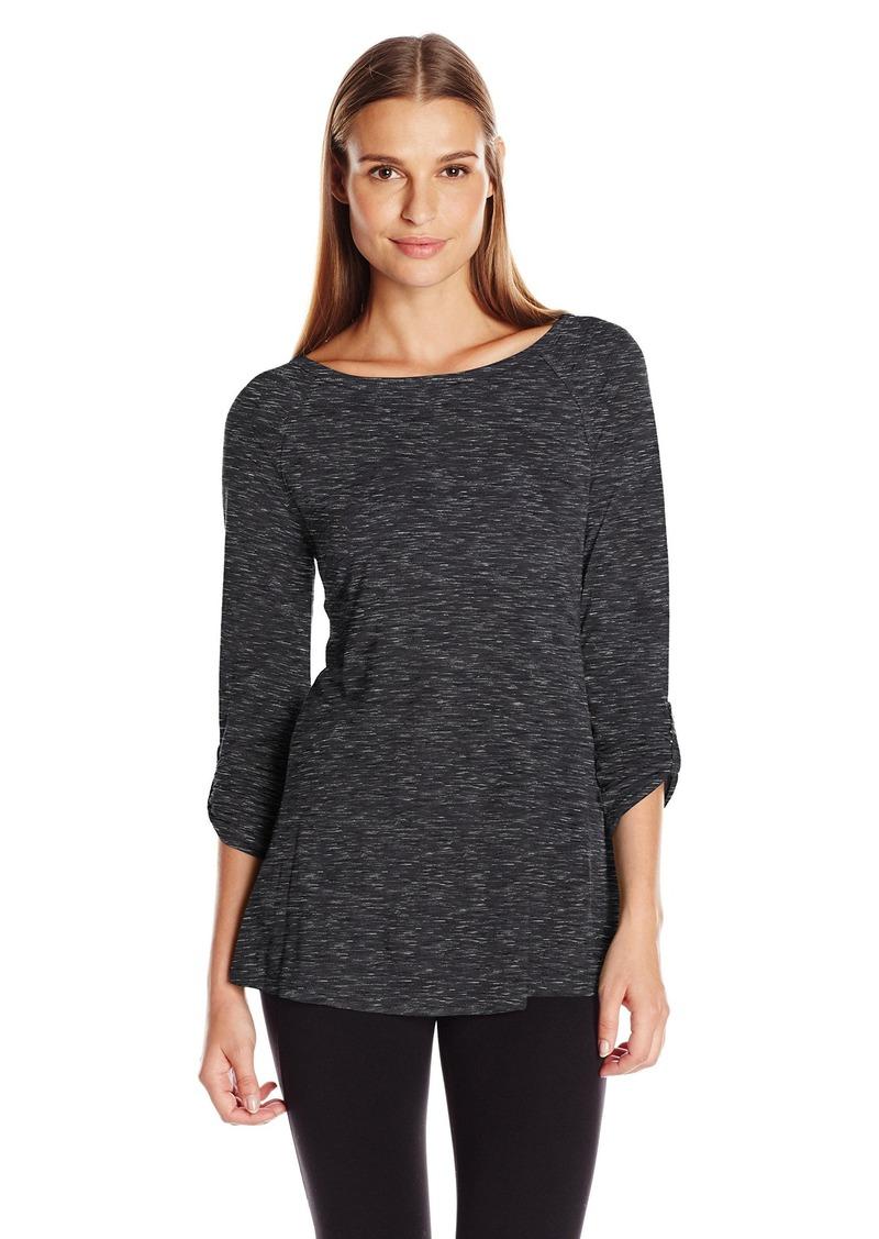 Calvin Klein Performance Women's Convertible Sleeve Space Dye Tunic  M