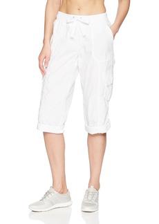 Calvin Klein Performance Women's Crop Convertible Cargo Pant  X Large