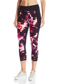 Calvin Klein Performance Women's Digital Rose Print Crop Legging