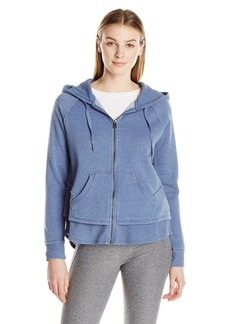 Calvin Klein Performance Women's Distressed Fleece Hoodie  L