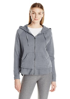 Calvin Klein Performance Women's Distressed Fleece Hoodie  M