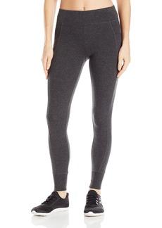 Calvin Klein Performance Women's Double Waistband 7/8 Legging With Cuff  L
